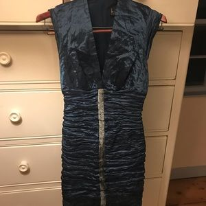 Nicole Miller silk cocktail dress